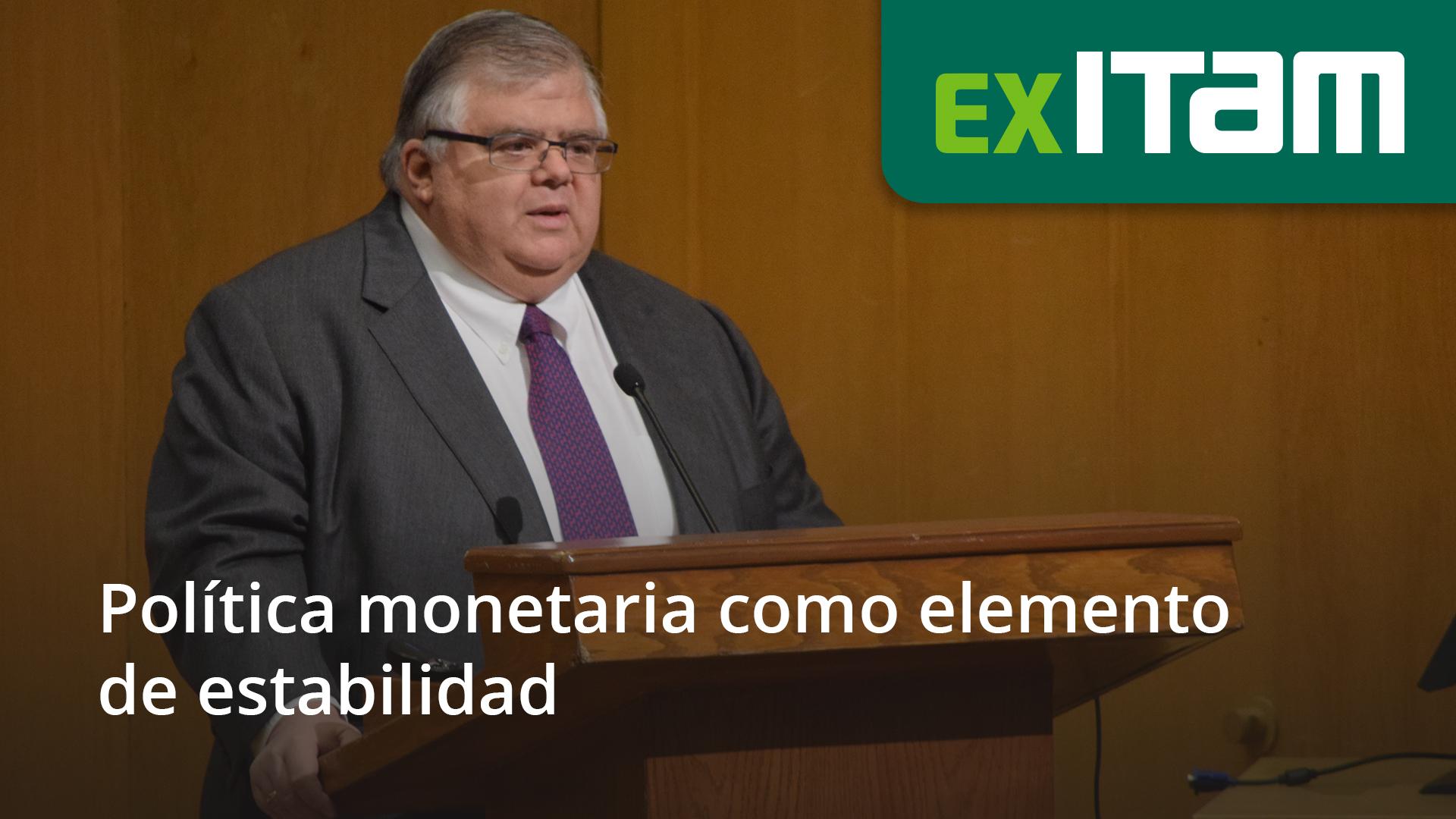 Política monetaria como elemento de estabilidad